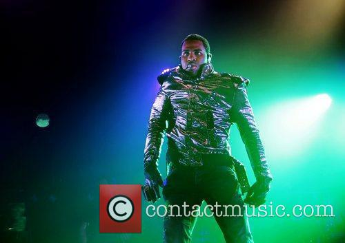 Jason Derulo  performing live at Manchester Apollo...