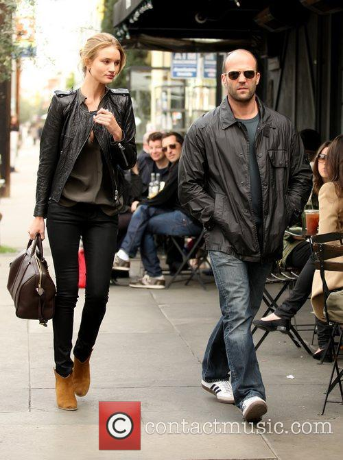 Rosie Huntington-whiteley and Jason Statham 2