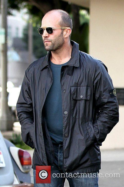 Jason Statham  leaving Joan's on Third after...