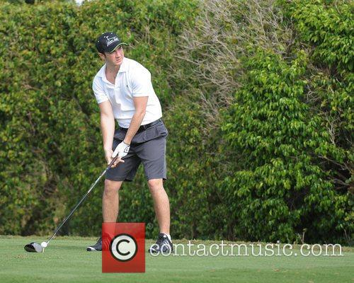 Kevin Jonas, Stock and Celebrity Golf Classic 11
