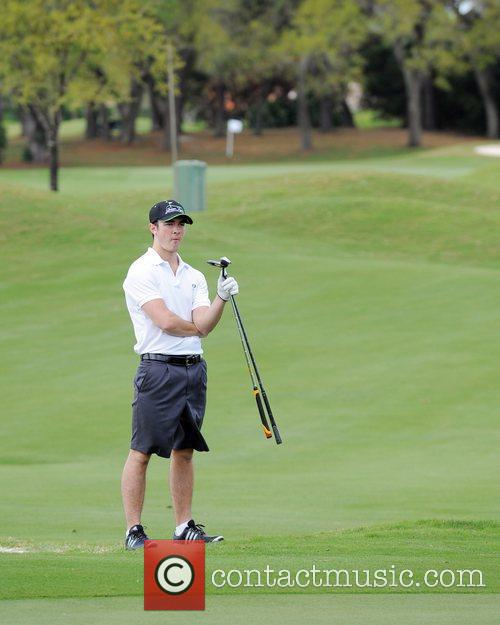 Kevin Jonas, Stock and Celebrity Golf Classic 3