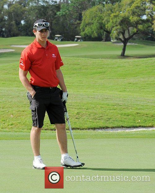 Nick Jonas, Stock and Celebrity Golf Classic 23