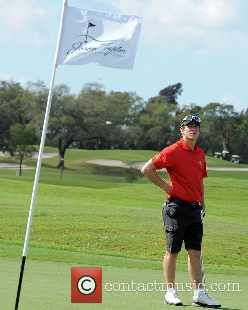 Nick Jonas, Stock and Celebrity Golf Classic 24