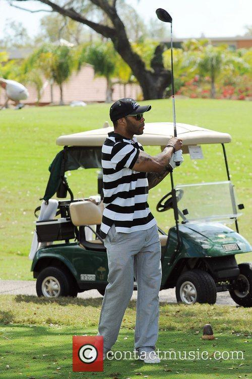 Omari Hardwick, Stock and Celebrity Golf Classic 2