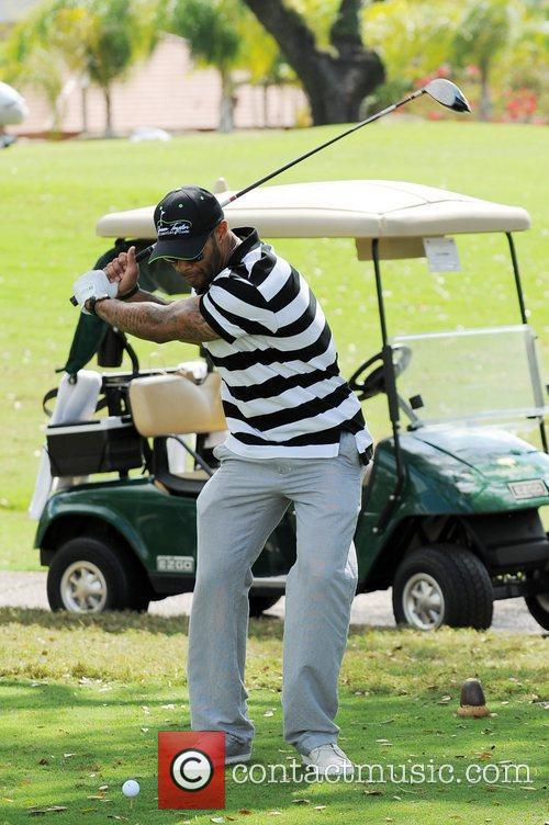 Omari Hardwick, Stock and Celebrity Golf Classic 6