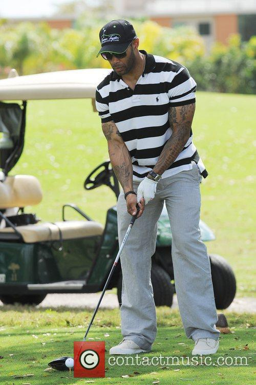 Omari Hardwick, Stock and Celebrity Golf Classic 3