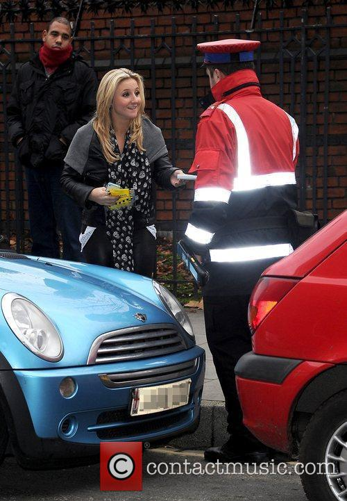 Jazmine Franks received a parking ticket when she...
