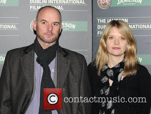 Mark Womack and Andrea Lowe attends the Irish...