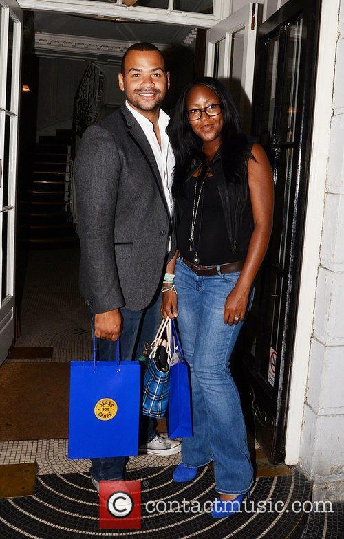 Jeans for Genes launch party at Kettners -...