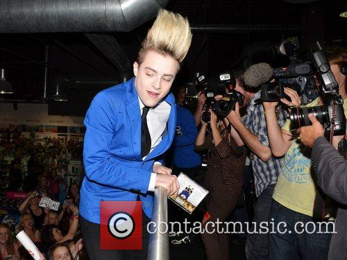 Jedward launch their new album 'Victory' at HMV...