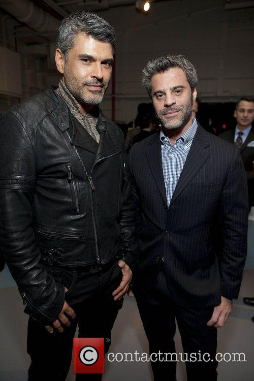 Mike Ruiz and Martin Berusch Jeffrey Fashion Cares...
