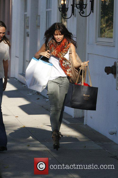 Jenna Dewan goes shopping in Beverly Hills Beverly...
