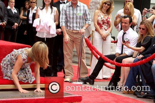 Jennifer Aniston, Justin Theroux, Grauman's Chinese Theatre