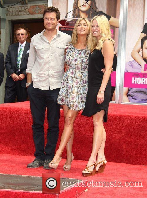 Jennifer Aniston is honoured with a Hand and...