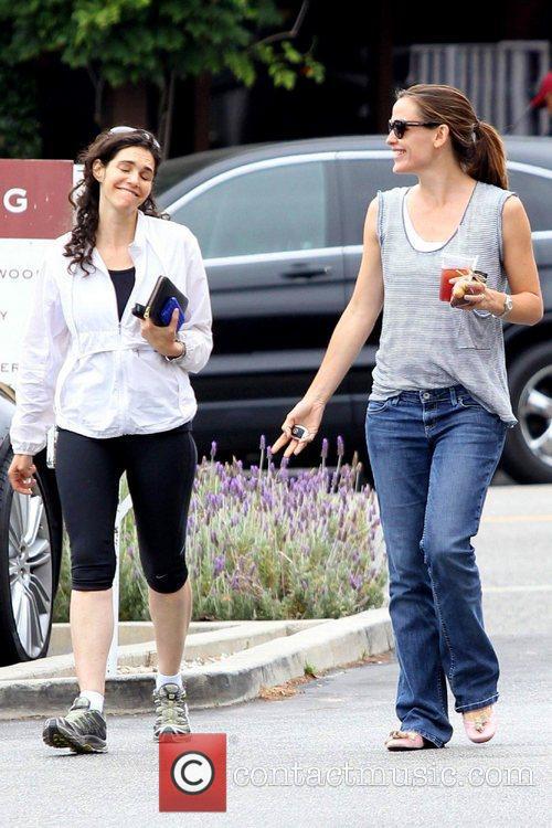 Jennifer Garner is seen out for a walk...