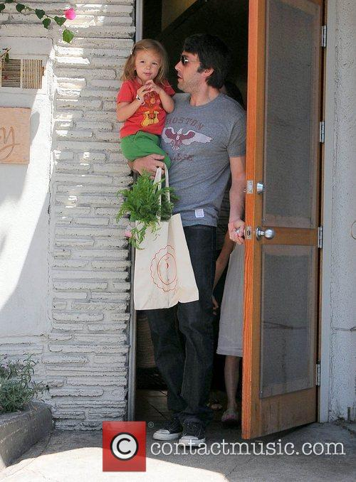 Ben Affleck goes to the farmers market with...