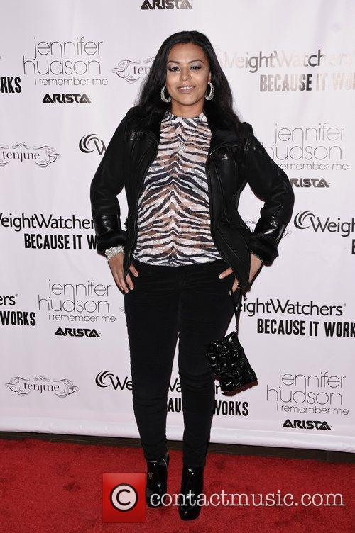 At Jennifer Hudson's Album Release Party - Arrivals