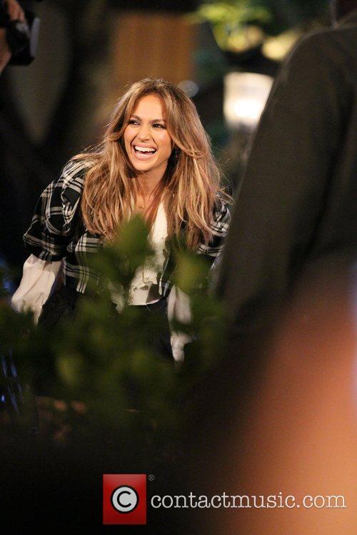Jennifer Lopez interviewed by Mario Lopez on 'Extra'...