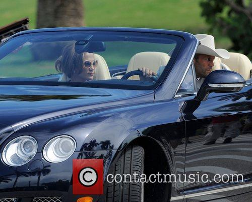 Jennifer Lopez and Jason Statham are sighted on...