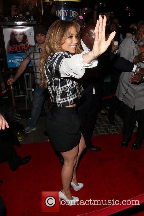 Jennifer Lopez on 'Extra' promoting her new music...
