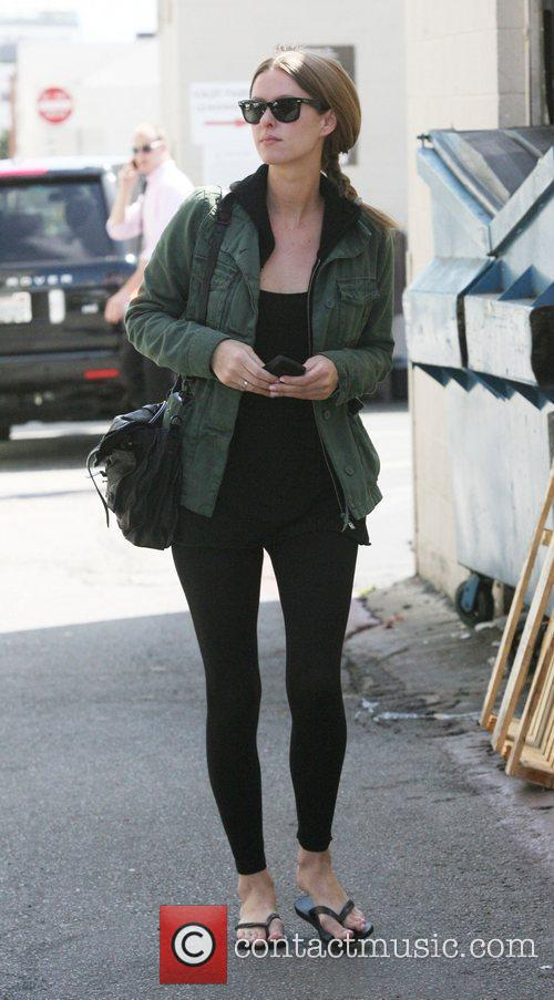 Nicky Hilton after having lunch with friends at...