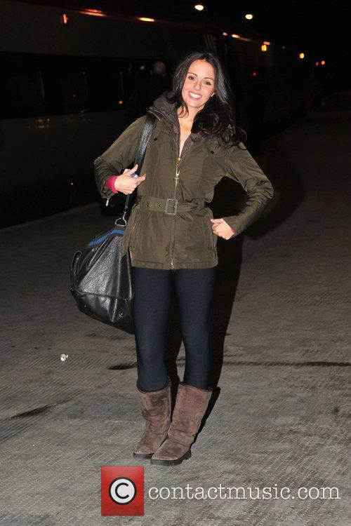 Jennifer Metcalfe and Dancing On Ice 4