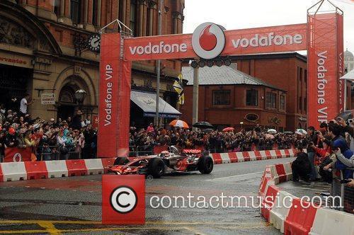 Vodafone VIP Live in Manchester - Jenson Button...