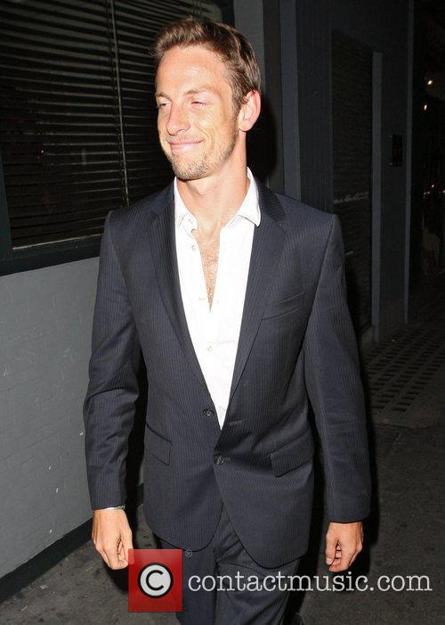 Jenson Button  at the Groucho Club in...
