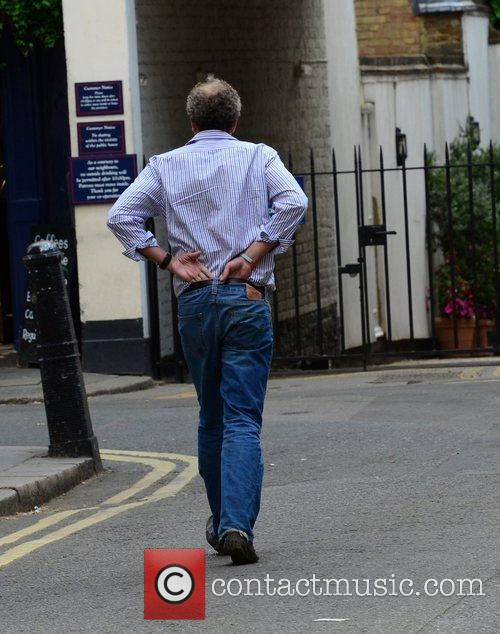 Jeremy Clarkson out and about in Knightsbridge after...