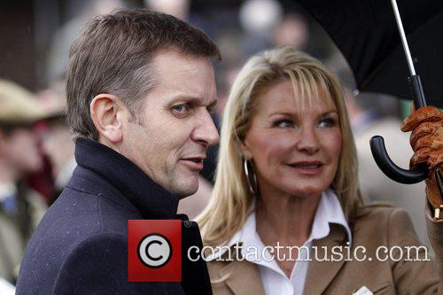 Jeremy Kyle and Vikki Dunn at Kempton Park...