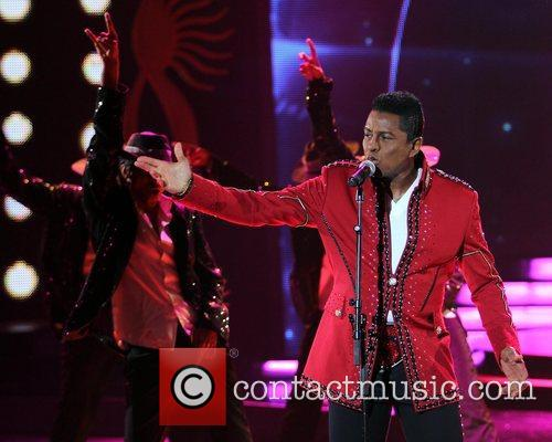 Jermaine Jackson performs on stage during the International...