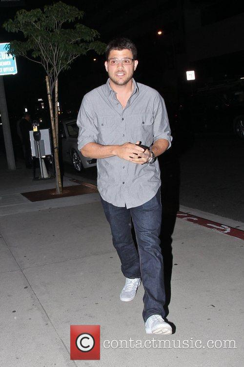 Arriving at BOA Steakhouse in West Hollywood