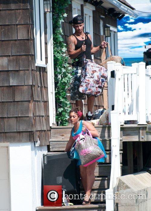 Deena Cortese, Pauly Delvecchio  The Jersey Shore...