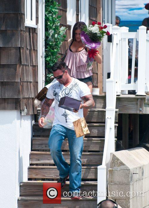 Jenni Farley, Roger Matthews  The Jersey Shore...