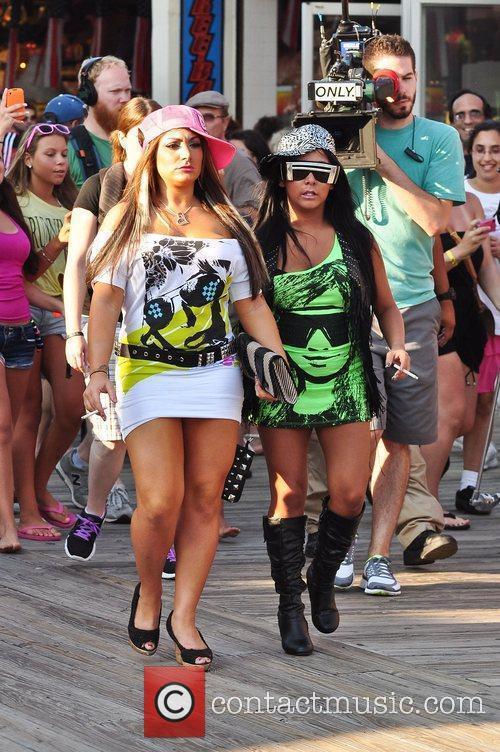 Nicole Polizzi, Deena Cortese of Jersey Shore take...