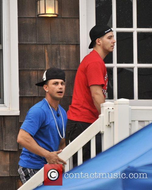 The cast of MTV's Jersey Shore returns to...