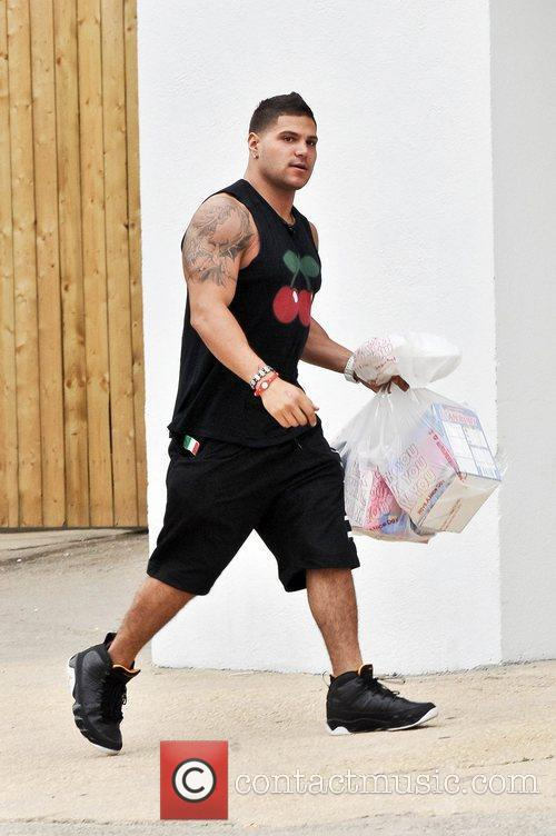 Ronnie Ortiz-Magro Cast members of MTV's 'Jersey Shore'...