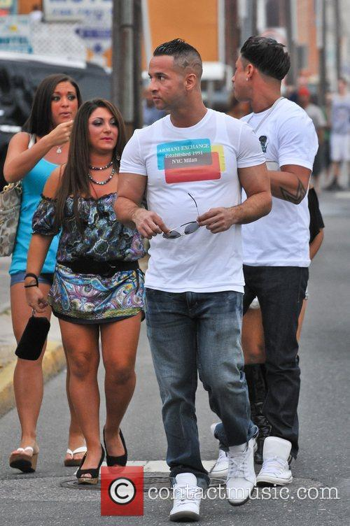 Mike Sorrentino, Jenni Farley and Nicole Polizzi 11