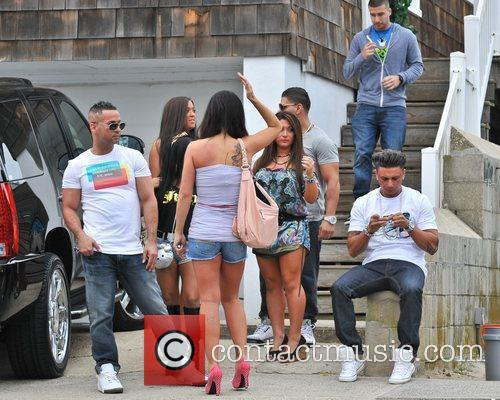 Sammi Giancola, Jenni Farley, Mike Sorrentino, Nicole Polizzi and Paul Delvecchio 1