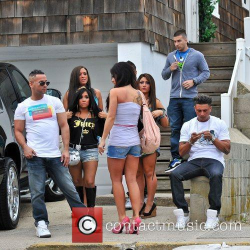 Sammi Giancola, Jenni Farley, Mike Sorrentino, Nicole Polizzi and Paul Delvecchio 10