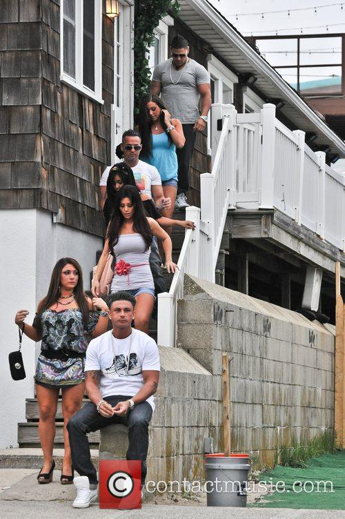 Sammi Giancola, Jenni Farley, Mike Sorrentino, Nicole Polizzi and Paul Delvecchio 6