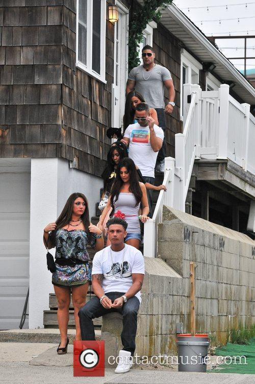 Sammi Giancola, Jenni Farley, Mike Sorrentino, Nicole Polizzi and Paul Delvecchio 3