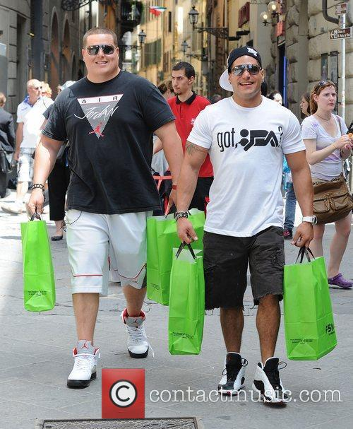 Jersey Shore cast member takes a friend who...