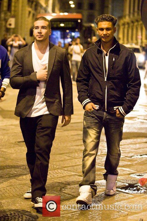 Vinny Guadagnino and Paul 'Pauly D' DelVecchio head...