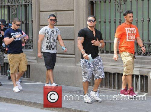 Mike The Situation Sorrentino, Paul Pauly D DelVecchio,...