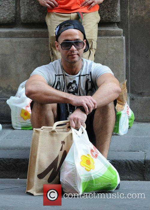 Mike The Situation Sorrentino Run some errands in...