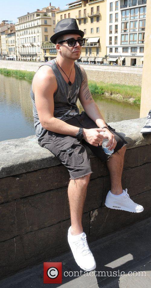 Vinny Guadagnino Jersey Shore cast members enjoy the...