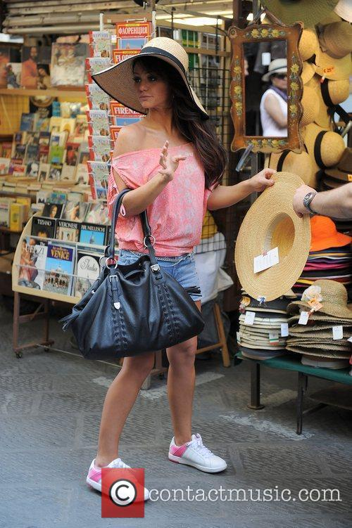 Jenni JWoww Farley Spends some time trying on...