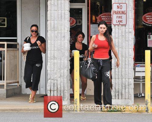 Jenni Farley aka JWoWW, Sammi Giancola and Nicole...