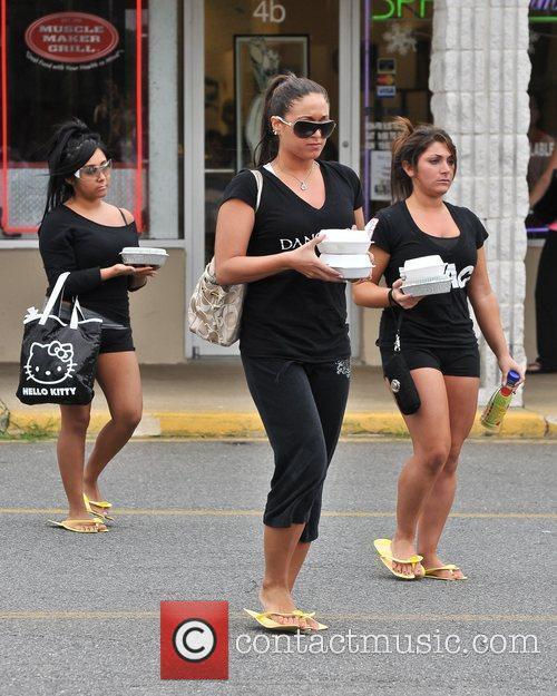 Nicole Polizzi aka Snooki, Sammi Giancola and Deena...